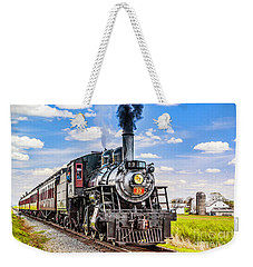 Weekender Tote Bag featuring the photograph Canadian National 89 by Nick Zelinsky