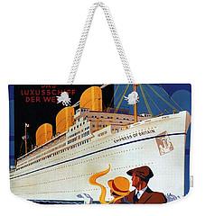 Canadian Pacific - Hamburg-berlin - Empress Of Britain - Retro Travel Poster - Vintage Poster Weekender Tote Bag
