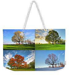 Canadian Seasons Weekender Tote Bag