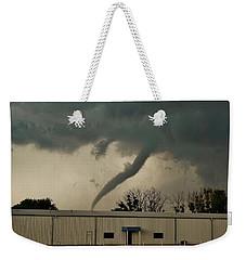 Canadian Tx Tornado Weekender Tote Bag by Ed Sweeney
