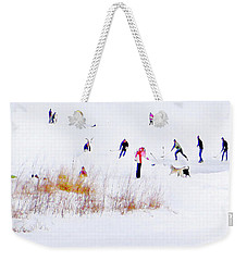 Weekender Tote Bag featuring the photograph Canadiana by John Poon
