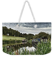 Canal Boats Weekender Tote Bag