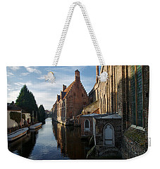 Canal By Church Weekender Tote Bag