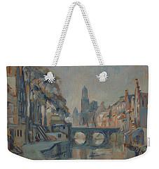 Canal In Utrecht Weekender Tote Bag