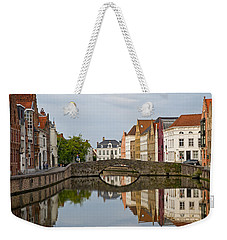 Canal Reflections Weekender Tote Bag