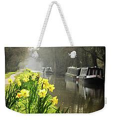 Canalside Daffodils Weekender Tote Bag