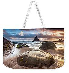 Canarian Island Sunrise Weekender Tote Bag