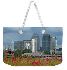 Canary Wharf 01 Weekender Tote Bag