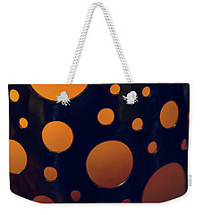 Weekender Tote Bag featuring the photograph Candle Holder by Carlos Caetano