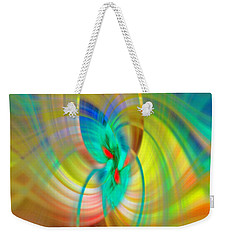Candle In The Wind Weekender Tote Bag by Cathy Donohoue