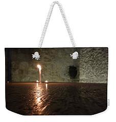 Candle Light Weekender Tote Bag