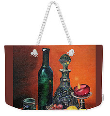 Candlelight Decanter Weekender Tote Bag