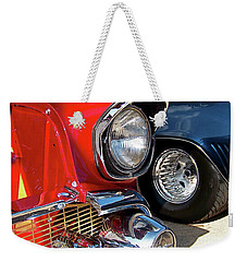Candy Apple 57 Weekender Tote Bag