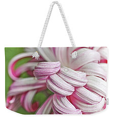 Candy Cane Petals Weekender Tote Bag