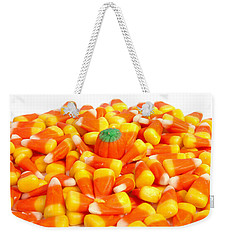 Candy Corn Weekender Tote Bag