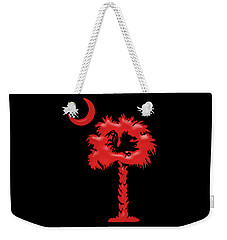 Candy Gamecock Red Weekender Tote Bag