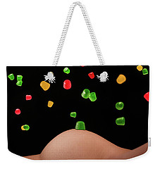 Candy Is Dandy Weekender Tote Bag