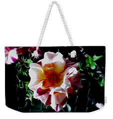 'candy Land' Rose In Abstract Weekender Tote Bag