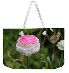 Candy Stripe Ranunculus Weekender Tote Bag