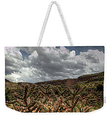 Cane Cholla Cactus Weekender Tote Bag