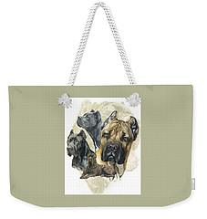 Cane Corso W/ghost Weekender Tote Bag