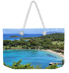 Caneel Bay St. John Weekender Tote Bag by Fiona Kennard