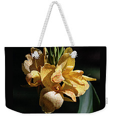 Cannas Amarillo Squared Weekender Tote Bag