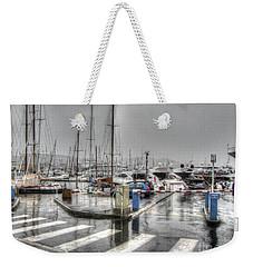 Cannes Street Rain Weekender Tote Bag