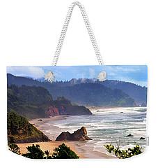 Cannon Beach Coast Oregon Weekender Tote Bag