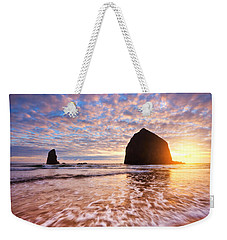 Cannon Beach Sunset Classic Weekender Tote Bag