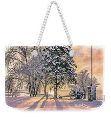 Cannon By The Lake Weekender Tote Bag
