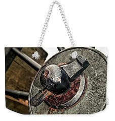 Cannon Wheel Weekender Tote Bag