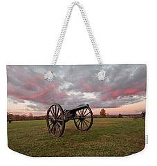 Cannons At Sunrise Weekender Tote Bag