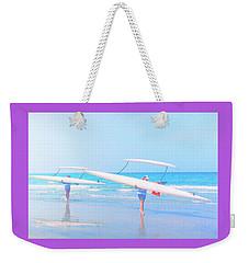 Canoe Ladies Weekender Tote Bag