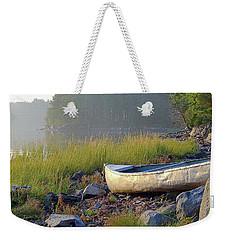 Canoe On The Rocks Weekender Tote Bag
