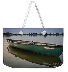 Canoe Stillness Weekender Tote Bag