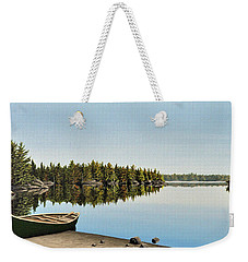 Canoe The Massassauga Weekender Tote Bag by Kenneth M  Kirsch