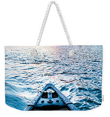 Canoeing In Paradise Weekender Tote Bag