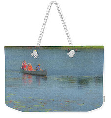 Canoes On Shovelshop Pond Weekender Tote Bag