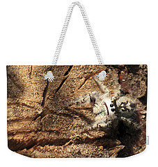 Canopy Jumping Spider Weekender Tote Bag