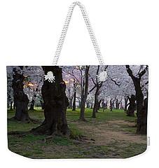 Canopy Of Pink 8x10 Weekender Tote Bag