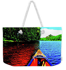 Canton Canoe Trip 2016 49 Weekender Tote Bag