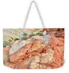 Canyon Color In Valley Of Fire Weekender Tote Bag