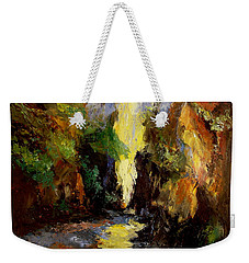 Canyon Creek Weekender Tote Bag by Gail Kirtz