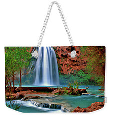Canyon Falls Weekender Tote Bag by Scott Mahon