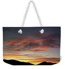 Canyon Hills Sunrise Weekender Tote Bag