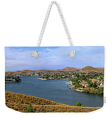 Canyon Lake Panorama Weekender Tote Bag