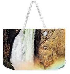 Canyon Lower Falls Rainbow Weekender Tote Bag