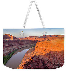 Canyon Of Colorado River - Sunrise Aerial View Weekender Tote Bag