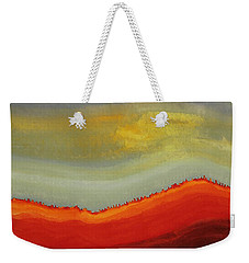 Canyon Outlandish Original Painting Weekender Tote Bag